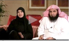 جنجال حضور بیروبنده همسر شیخ در برنامه تلویزیونی/عکس
