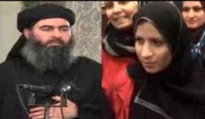 مطلقه ابوبکر البغدادی در لبنان آزاد شد