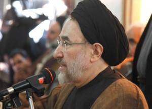 سید محمد خاتمی: ایران و ایرانی با دنیا سر جنگ ندارد