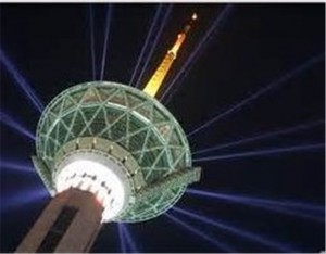 جایزه ویژه برج میلاد تهران به بازدیدکننده نفر 2222222