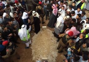 """پادشاه عربستان در قبرستان """"العود"""" دفن شد"""