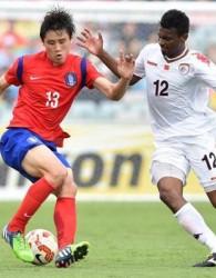 کره جنوبی با یک گل عمان را شکست داد