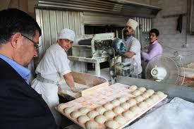 پلمپ یک نانوایی در ورامین به علت ارزان فروشی