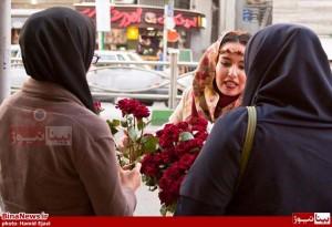 مصاحبه با دختر گلفروش میدان تجریش