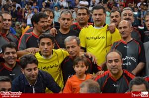 گزارش تصویری حضور علی دایی و تیم ملی 98 در ارومیه+17عکس