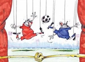 مزایده استقلال و پرسپولیس/کاریکاتور