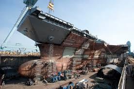 """""""جرالد فورد""""بزرگترین ناو هواپیمابر جهان /تصاویر"""