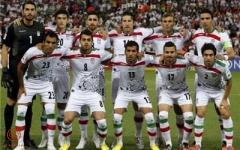 تیم ملی فوتبال ایران در مقابل ترکمنستان سفیدپوش شد