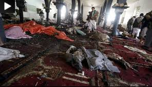 وقوع سه انفجار تروریستی در سه مسجد صنعاء