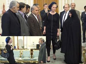 لغو نشست خبری هیئت پارلمانی اروپا در تهران