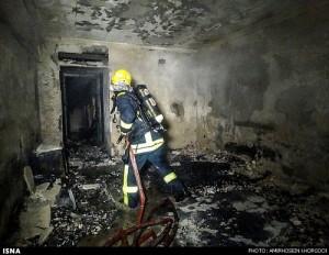 بازداشت 2مظنون آتشسوزی هتل هرمز