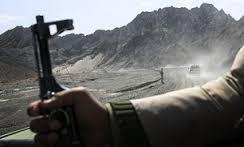 درگیری پلیس با قاچاقچیان مسلح در ایرانشهر
