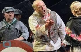 جنجال حضور عریان یک بازیگر در صحنه اپرا