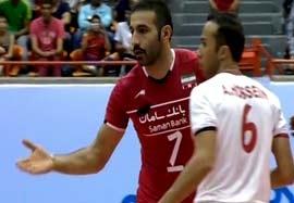 پیروزی تیم والیبال ایران برابر قزاقستان/ ایران 3-0 قزاقستان