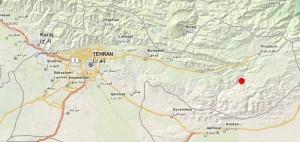 زلزله 4.6 ریشتری در فیروزکوه/ زمینلرزه تاکنون خسارت نداشته