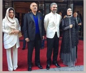 بازیگران فیلم محمد(ص) در جشنواره مونترال/عکس