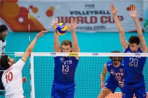 جام جهانی والیبال ۲۰۱۵/ روسیه ۳ – ایران صفر / راه المپیک دور شد