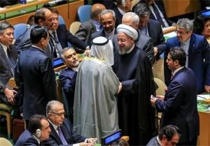 شایعه مصافحه روحانی و نماینده عربستان در سازمان ملل و اصل ماجرا