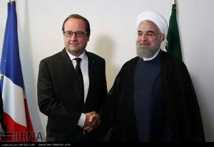 روحانی به اولاند: همه طرفهای توافق باید به تعهدات خود عمل کنند