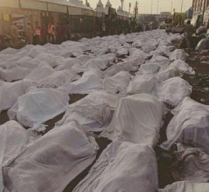 آمار خبرگزاری فرانسه از تعداد جانباختگان و مفقودین فاجعه منا