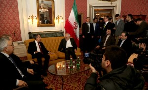 دیدار ظریف با موگرینی و لاوروف در حاشیه نشست وین/تصاویر