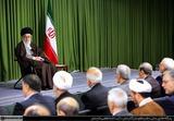 دیدار رهبر انقلاب با وزیر امور خارجه و سفیران