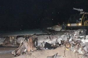 سقوط هواپیمایی در پایتخت هندوستان 10 کشته داد