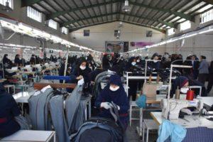 صنعت پوشاک منطقه آزاد ماکو در آستانه صادرات